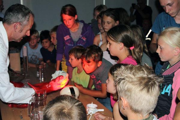 Kinderverjaardag op de sterrenwacht